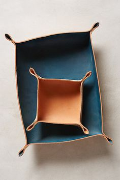 Leather Tray // Anthropologie