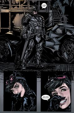 This week in Batman # marvel as Batman becomes an actual dark knight and fight demons and dragons together with Wonder Woman. Written by Tom King with art by Joelle Jones. Bruce and Selina Catwoman Y Batman, Batman Y Superman, Catwoman Cosplay, Batgirl, Batman Artwork, Batman Wallpaper, Dc Comics Art, Marvel Dc Comics, Gotham City
