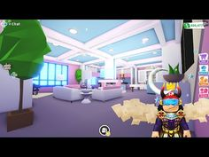 Futuristic Home 2 - House Design - With madamMADHOUSE - Tour - In Adopt Me - Roblox - YouTube Home Building Design, Building A House, House Design, Future House, My House, Cool Avatars, My Roblox, Futuristic Home, Cute Room Ideas