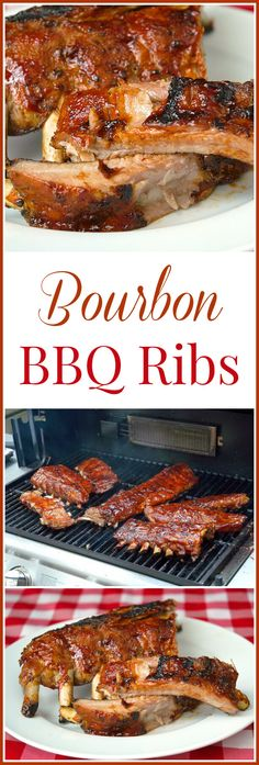 Barbecue Ribs Bourbon Barbecue Ribs - Some tender, succulent ribs with a homemade Bourbon Barbecue Sauce.Bourbon Barbecue Ribs - Some tender, succulent ribs with a homemade Bourbon Barbecue Sauce. Barbecue Ribs, Barbecue Recipes, Barbecue Sauce, Grilling Recipes, Cooking Recipes, Healthy Grilling, Vegetarian Grilling, Vegetarian Food, Grilling Chicken