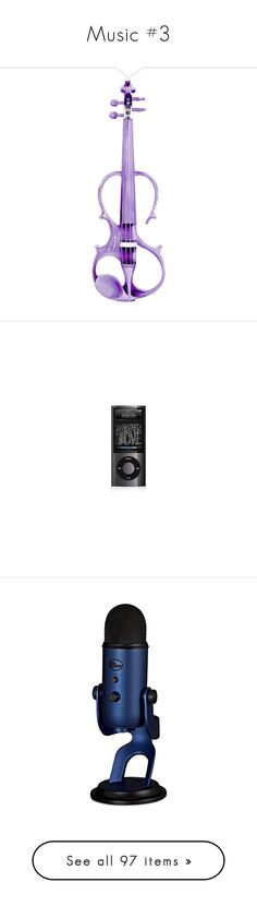 """""""Music #3"""" by belenloperfido ❤ liked on Polyvore featuring electronics, ipod, accessories, ipod nano, music, map, guitars, instruments, 32. miscellaneous accessories. and filler"""