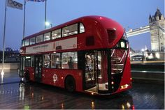 Next generation of double-decker buses, the first designed specifically for London in more than 50 years