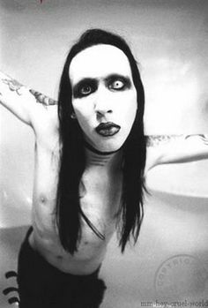 Marilyn Manson. It should be illegal to be this attractive...