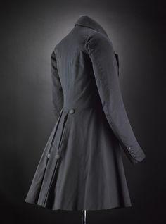 Victorian frock coat, c.1830-1850. National Museum of Scotland.