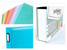 Sturdy, colorful cardstock!