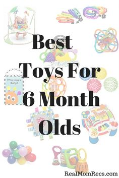 Best Toys for 6 Month Olds / Babies favorite toys / Go-to gifts for baby / Must have toys for 6 month olds / Baby shower gift ideas