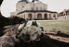 Brautstrauß aus Rosen / Ranunkeln und Eukalyptus Getting Married, Heart