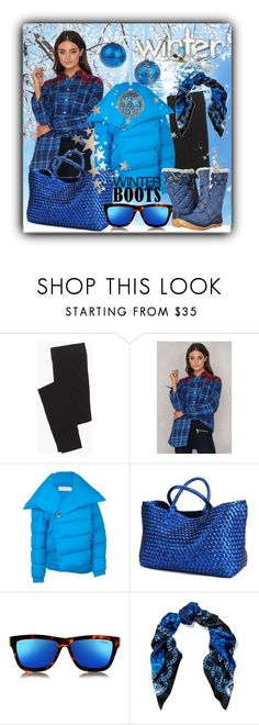 """""""Winter Time"""" by drahuschka on Polyvore featuring Madewell, Tommy Hilfiger, Marques'Almeida, Le Specs, Versace and Columbia"""