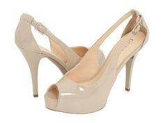 Guess Hondo Nude Patent Leather High Heel