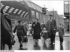Berlin 1959 am Alexanderplatz