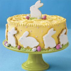 Awesome Easter Cakes and Cupcakes - Easter Dessert Recipes - Delish.com pic #Bunny-Shaped #Recipes