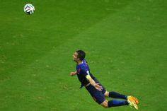 Day 2 (6/16): Robin van Persie's Super-Goal