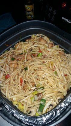 Chicken with hay - Healthy Food Mom Gourmet Recipes, Healthy Recipes, Actifry, Air Fryer Healthy, Air Fryer Recipes, Food Lists, Food Hacks, Food Print, Chicken Recipes