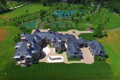 Location: 1005 Founders Ridge Lane, McLean, VA Square Footage: 20,000 Bedrooms & Bathrooms: 6 bedrooms & 12 bathrooms Price: $12,500,000 This French Provincial style mega mansion is located at