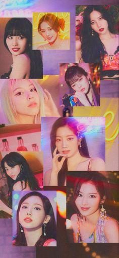 Tzuyu Wallpaper, Love Wallpaper, Kpop Girl Groups, Kpop Girls, Twice Group, Twice Jihyo, Kpop Posters, Vkook Fanart, Dahyun