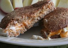 Vegan Hummus Grilled Cheese [Hungry Hungry Hippie]