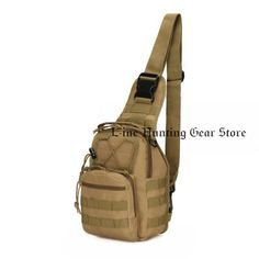 feb9f6b62b 600D Nylon Sports Molle Chest Bag Tactical Military Shoulder Strap Bag Men  Women. Hunting Backpacks ...