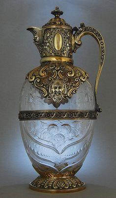Stourbridge Glass: Charles Edwards - London 1889    Stourbridge Glass, designed by John Orchard