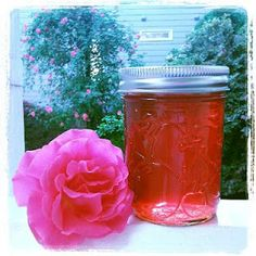 Strawberry Rose Petal Infusion