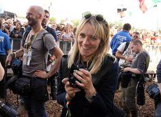 Photo: Jason Bryant - Glastonbury 2014 - Edith Bowman