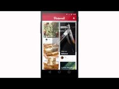 Pinterest with Material Design - YouTube