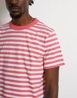 Armor Lux - Striped Heritage T-Shirt Pink We Carry On, Logo Branding, Men's Fashion, Menswear, Pink, Mens Tops, T Shirt, Moda Masculina, Supreme T Shirt