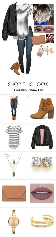"""Untitled #711"" by medinea ❤ liked on Polyvore featuring Vibrant, Steve Madden, Splendid, MaxMara, BEA, Michael Kors, Madewell and Casetify"