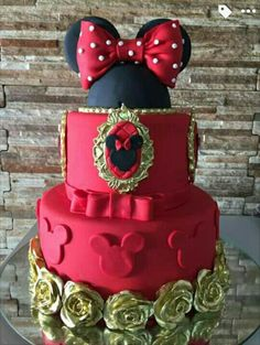 ideas birthday cupcakes for girls kids minnie mouse Torta Minnie Mouse, Mickey And Minnie Cake, Minnie Mouse Cookies, Minnie Mouse Birthday Cakes, Mickey Cakes, Mickey Birthday, Girl Cupcakes, Birthday Cupcakes, Chocolate Girls