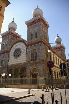 Synagogue, Enrico Petiti, Torino, province of Turin , Piemonte region Italy .