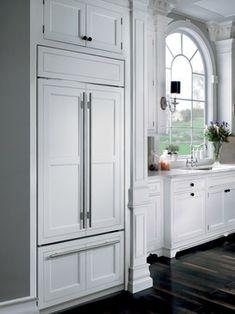 "sub zero 42"" over under refrigerator | Sub-Zero 42"" Over-and-Under with French Door Refrigerator | BI-42UFD ..."