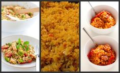 Rice recipes...the only one I tried so far is the paella rice salad, but it was fantastic!