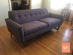 Elegant We Just Delivered A New Woodside Sofa To A Customer This Past Weekend    Check One. Custom FurnitureCustom SofaSan FranciscoSofa ...