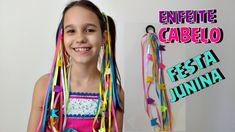 ENFEITE  DE CABELO DE FESTA JUNINA - LÍVIA STURNIK - YouTube
