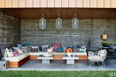 Find inspiration for creating a dreamy and unique outdoor seating area for summer entertaining