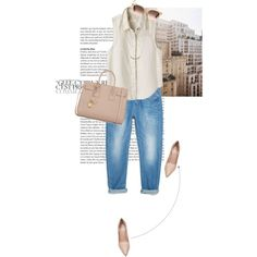 Nude, created by curliciousinvasion on Polyvore