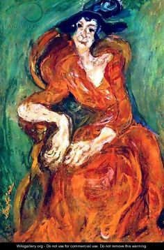 Woman in Pink - Chaim Soutine