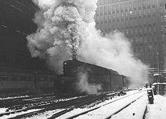 Comboios EUA Locomotiva Loewy Pennsylvania Raymond Trens PRR Design