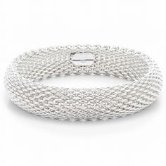Tiffany OFF! Tiffany and co Bracelets Mesh have this and love it! Tiffany Jewelry, Tiffany Bracelets, Tiffany Rings, Tiffany & Co., Tiffany Store, Tiffany Outlet, Do It Yourself Jewelry, Somerset, Mesh Bracelet