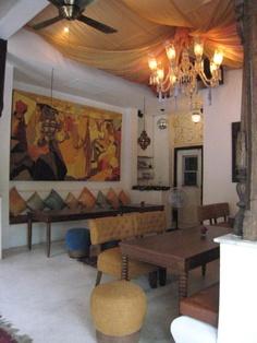 At Niman, boutique resort.