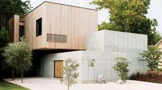 Architectenkoppel laat droom uitkomen en bouwt huis van beton
