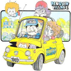 Slump by Akira Toriyama Fiat 500, Dragon Ball, Manga Artist, Comic Artist, Game Character Design, Character Art, Dbz, Akira Characters, Manga Dragon