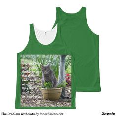 The Problem with Cats All-Over Print Tank Top