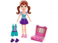 Boneca Polly Pocket Lila Casa Divertida - Mattel