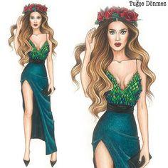 Sima Şerafettinova @simaserafetdinova #simaserafetdinova #istebenimstilim #istebenimstilimallstar #fashion #fashiondesign #fashiondrawing #fashionsketch #fashionillustration #fashiondesigner #drawing #sketch #illustration #art #worldofartists #turkiye #nişantaşı #tugcedonmez #womeninthearts Dress Design Sketches, Fashion Design Drawings, Fashion Sketches, Fashion Drawing Dresses, Fashion Illustration Dresses, Moda Fashion, Fashion Art, Girl Fashion, Award Show Dresses