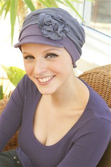 Daytime headwear to cover up hair loss