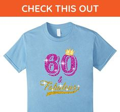 Kids 60 and Fabulous 60 years old B-day 60th Birthday Gift 6 Baby Blue - Birthday shirts (*Amazon Partner-Link)