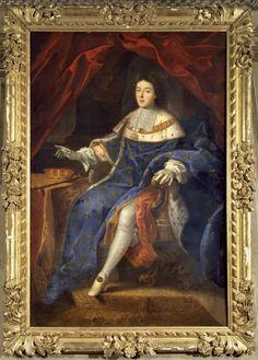 Prince Louis-Auguste I de Bourbon, Duc du Maine et d'Aumale (1670 - 1736), 22e. Prince souverain de Dombes, Comte d'Eu, Pair et Prince du Sang de France. Fils légitimé en 1681 du roi Louis XIV et de la Marquise de Montespan, il épousa la princesse Anne Louise Bénédicte de Bourbon-Condé qui lui donnat 7 enfants, tous morts sans postérité. Sa lignée s'éteignit en 1775.