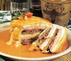 For a boozy, Portuguese take on grilled cheese, try a Francesinha sandwich made with cheese and veal... - Tia Maria's Blog