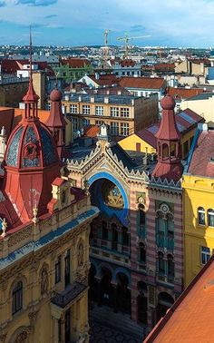 Prague Old City, Czech Republic   by Ilya Varlamov