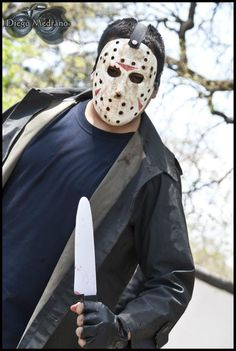 Cosplay: Jason - Friday The 13th -- Cosplayer: Steve Arranz-Sama -- Lugar: ((Jornadas de Manga y Anime 29/10/11)) -- Ph: CospPhoto